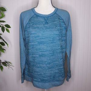 Eddie Bauer Pullover Long Sleeve Top Size L